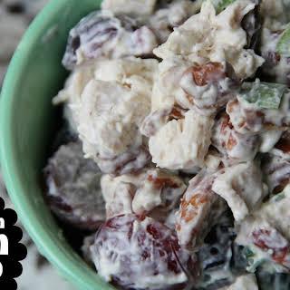 Grape & Pecan Chicken Salad.