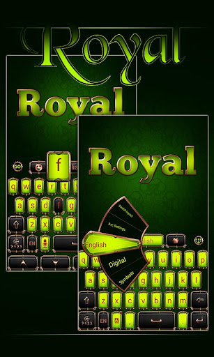 Royal GO Keyboard Theme Emoji