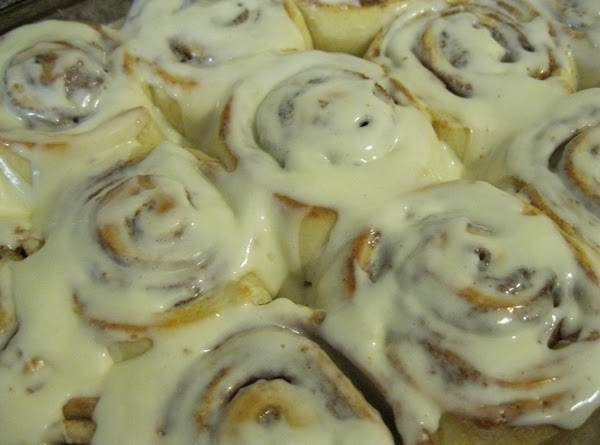 Bake the buns until golden brown, about 35 minutes.  Cool in the pan...