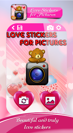 Love Stickers for picture