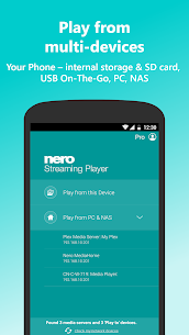 Nero Streaming Player Pro | Connect phone to TV 2
