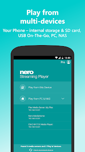 Nero Streaming Player Pro | Connect phone to TV Screenshot