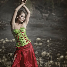 dancing on the savannah by Bin Bink - People Fashion