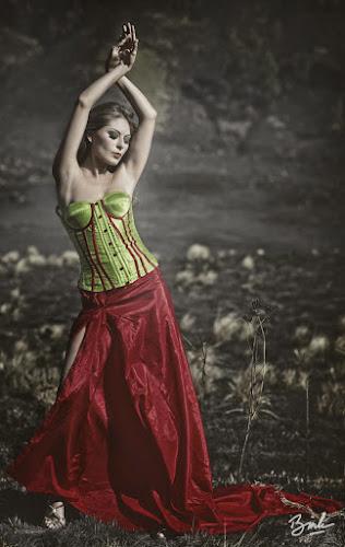 dancing on the savannah by Bin Bink - People Fashion