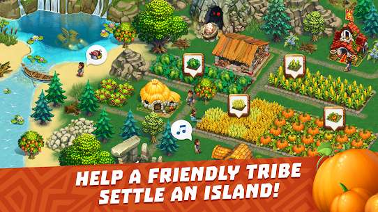The Tribez Build a Village Apk Mod Dinheiro Infinito 1