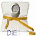 Diet. Losing weight. Health. Proper nutrition. Icon