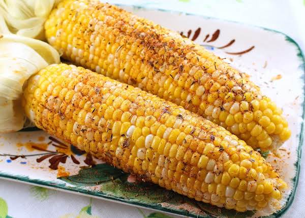 Oven Roasted Corn With Cajun Butter Recipe