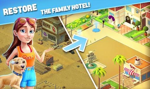 Resort Hotel: Bay Story MOD Apk (Unlimited Money/Keys/Lives) 1