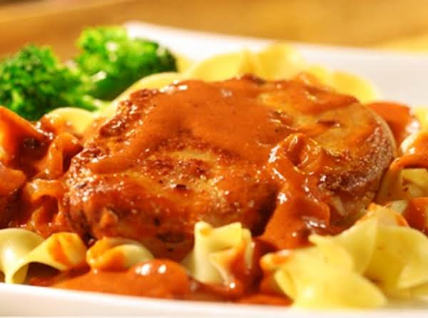 Pork Chops Paprikash Recipe