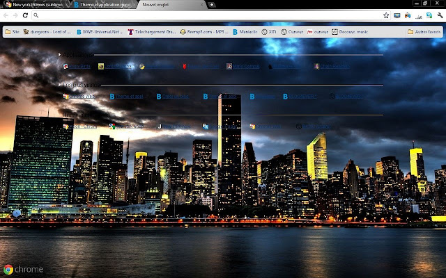 New york themes (sublimes city)