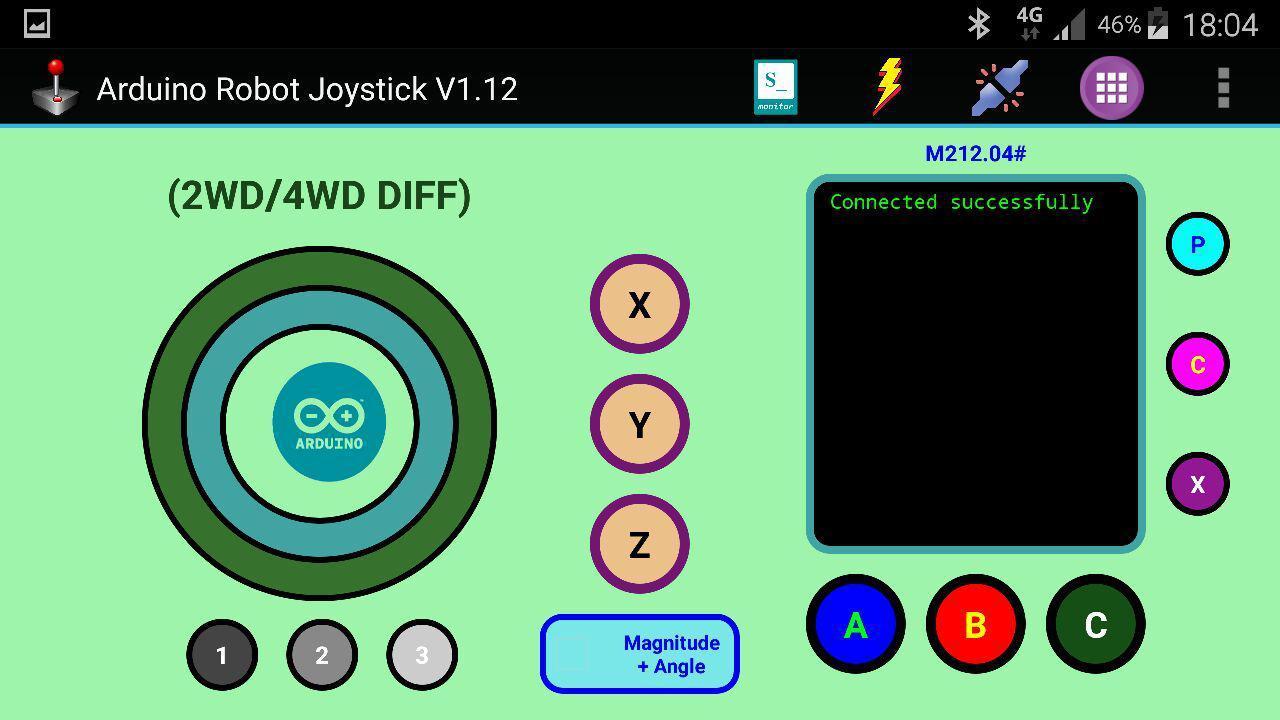 Arduino robot joystick android apps on google play