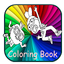 Apple and Onion : Coloring Book APK