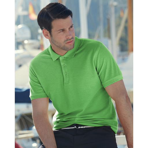 Fruit of the Loom Cotton Polo Shirts