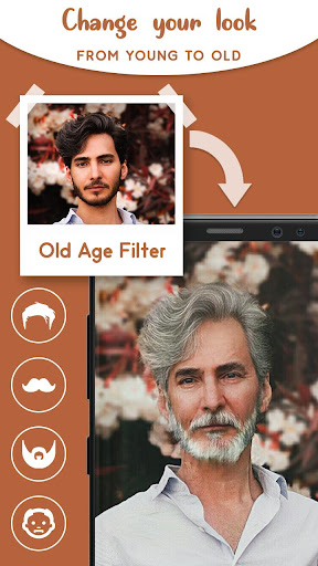 Old Age Face effects App screenshot 4