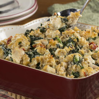 Chicken and Kale Casserole.