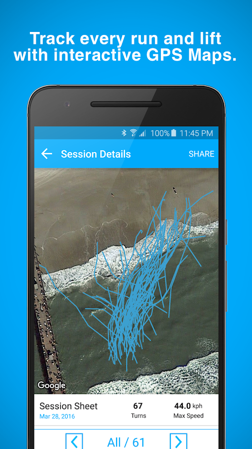 Trace Surf Track Your Surfing- screenshot