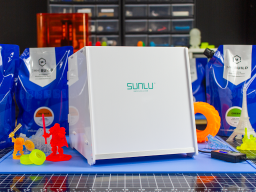 No SLA print is complete without going through the curing process. Make sure your resin prints achieve maximum strength and durability with SUNLU's UV Resin Curing Light Box.