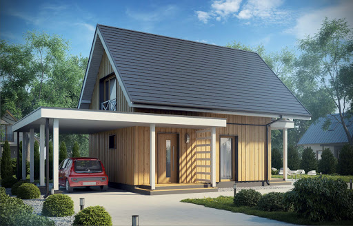 projekt D157 - wersja drewniana