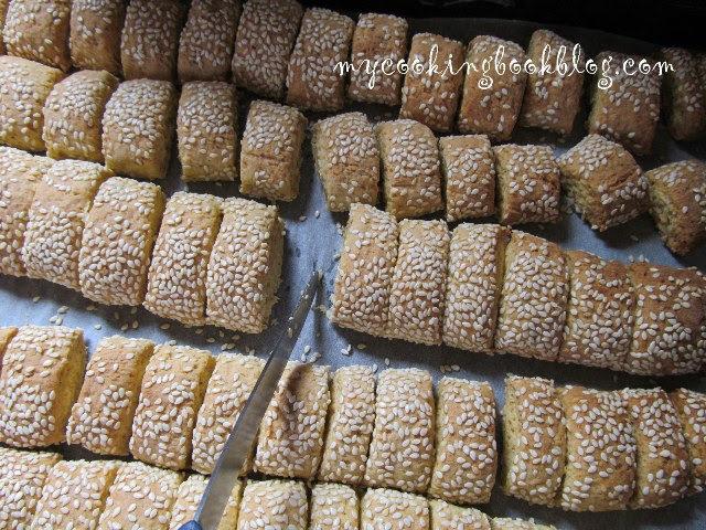 Паксимадя (Παξιμάδια) или сухари с анасон