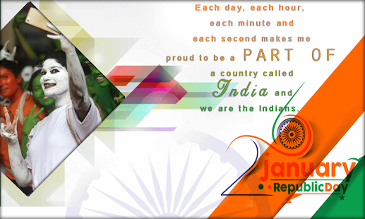 Republic Day Photo Frames - Happy Republic Day - náhled