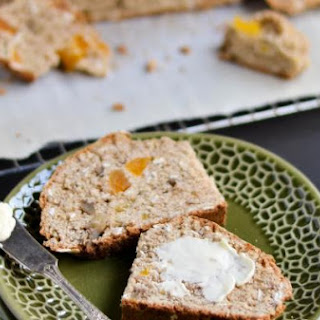 Oatmeal, Apricot, Walnut Soda Bread