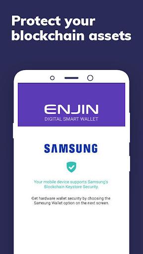 Image of Enjin: Bitcoin, Ethereum, Blockchain Crypto Wallet 1.6.3-r 2