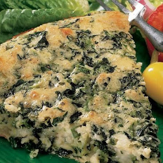 Impossibly Easy Spinach and Feta Pie.