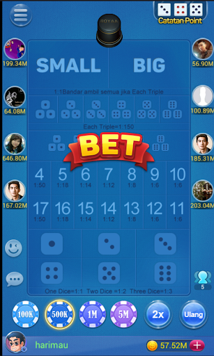 Sic Bo ( Free Dice Game ) screenshot