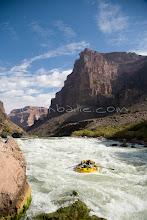 Photo: Rafting through Crystal Rapid down the Grand Canyon. Grand Canyon NP, AZ.