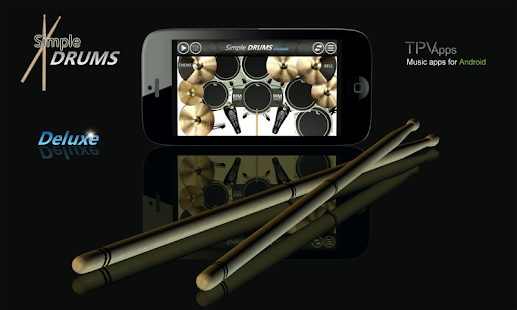 Simple Drums Deluxe para Android