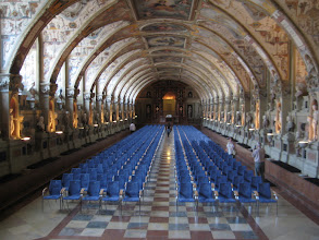 Photo: A theater/dance hall in the Residenz.
