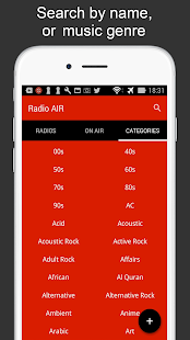Radio AIR - Listen to Music for free- screenshot thumbnail