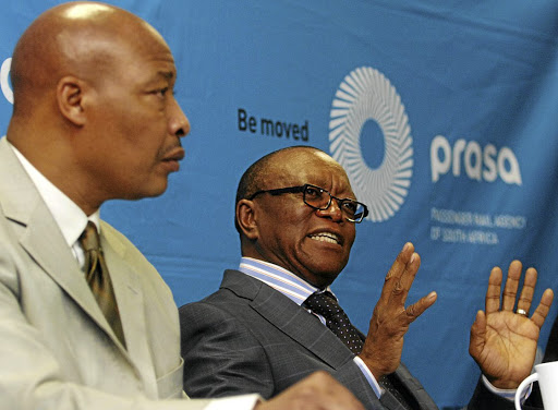 Popo Molefe, right. Picture: BUSINESS DAY