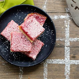 Pink Lemonade Bars Recipe   Epicurious.Com Recipe