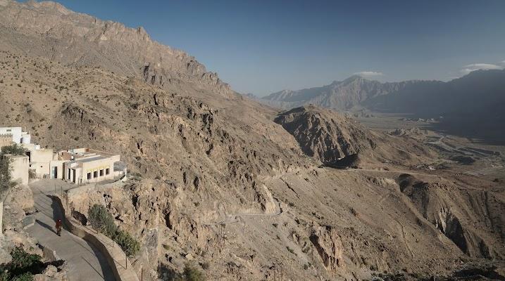 Blick von Wakan ins Wadi Mistal