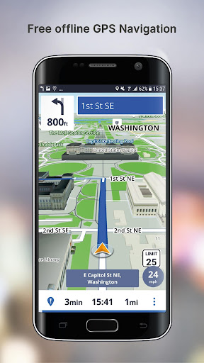 Free GPS Navigation screenshot