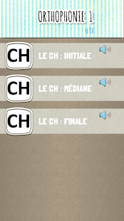 Orthophonie 1 : exercices d'articulation- screenshot thumbnail