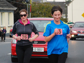 Photo: Della Hunter, Moyne A.C. & Mary Lanigan, Moycarkey