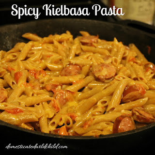 Spicy Kielbasa Pasta Recipe