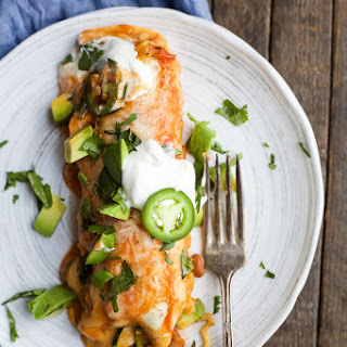 Inspiralized Vegetable Enchiladas