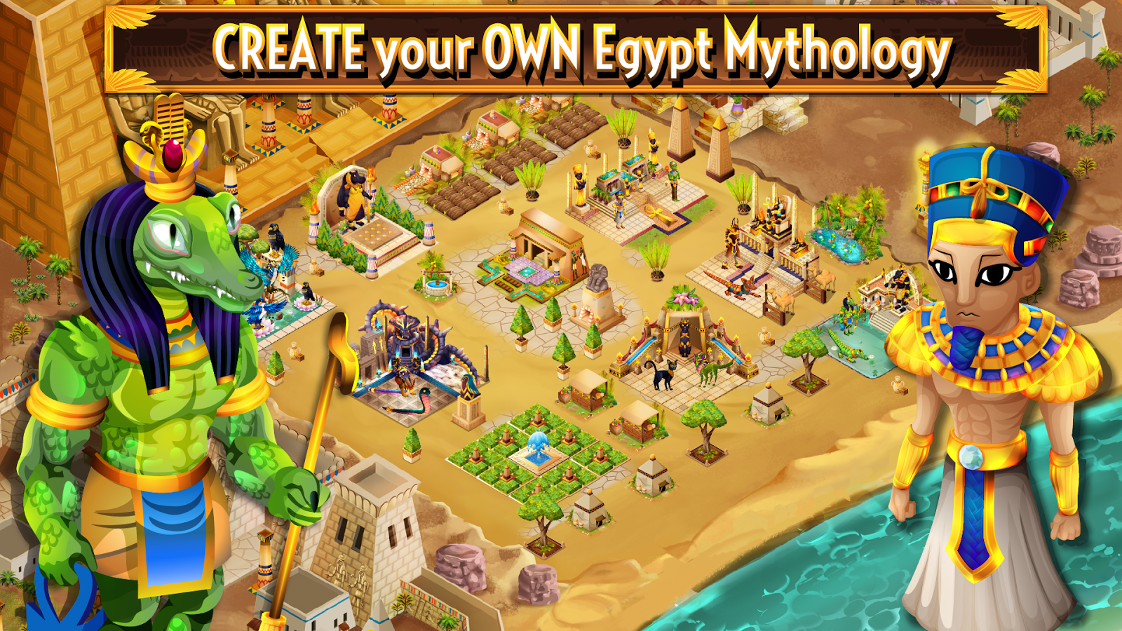 Age of Pyramids: Ancient Egypt- screenshot