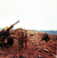 Photo: Battery on LZ Peanuts following sapper attack on May 5, 1968.  Would presume looking on a SE direction.