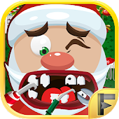 Crazy Santa Christmas Dentist