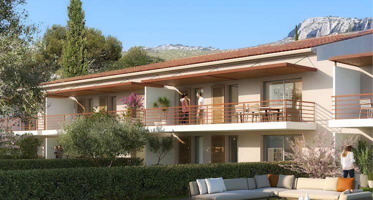 Toulon quartier des 4 chemins