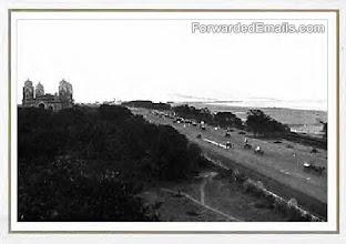 Photo: Beach road - Napier bridge