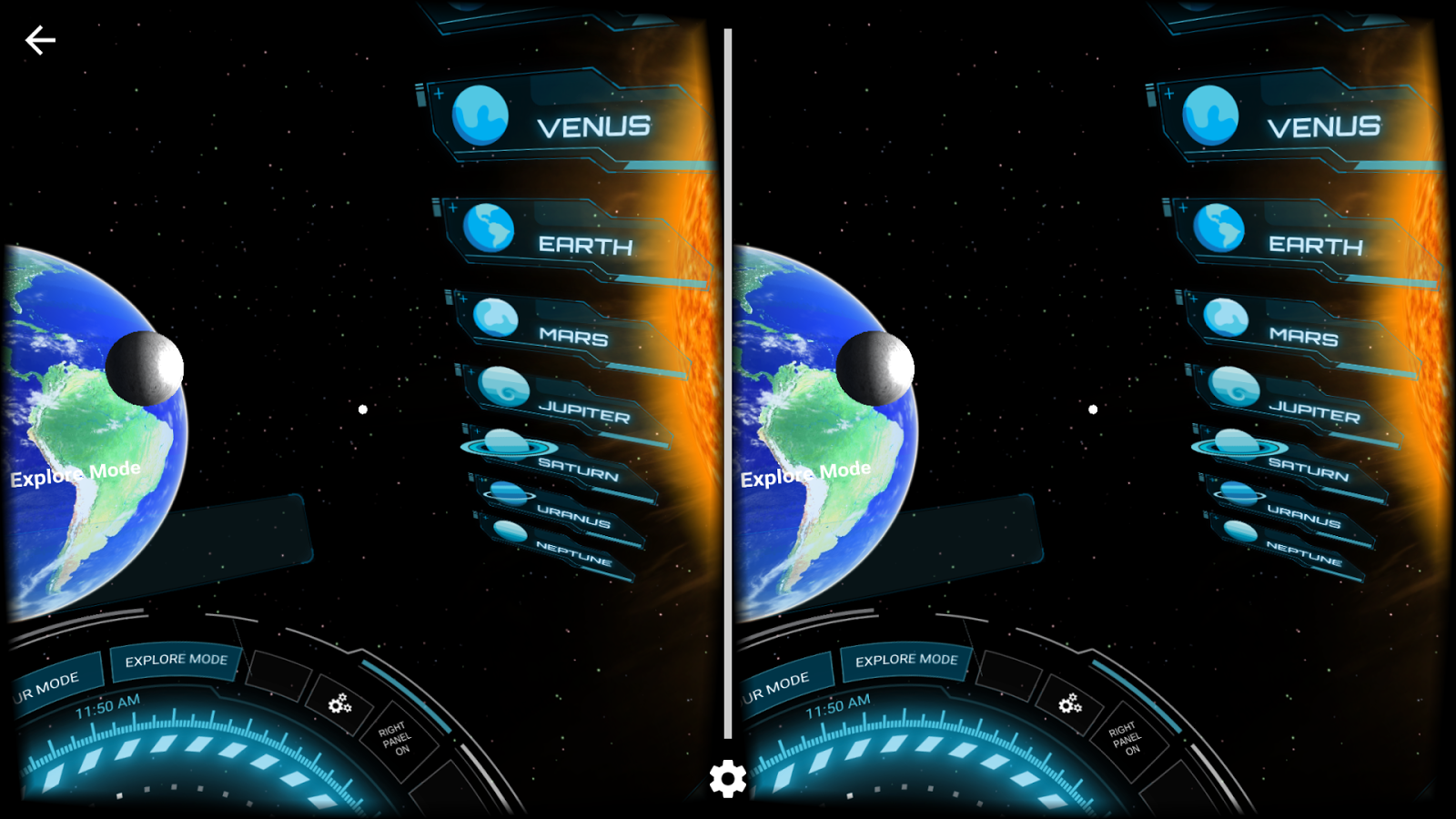 SolarVR by Aura Interactive- screenshot
