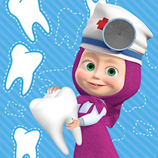Masha e o Urso: Jogar Jogos de Dentista Gratis