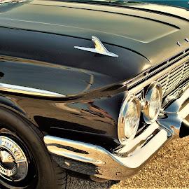 Chevy Impala by Benito Flores Jr - Transportation Automobiles ( chevy, sunday, sony, black, texas, car show, impala, ennis )