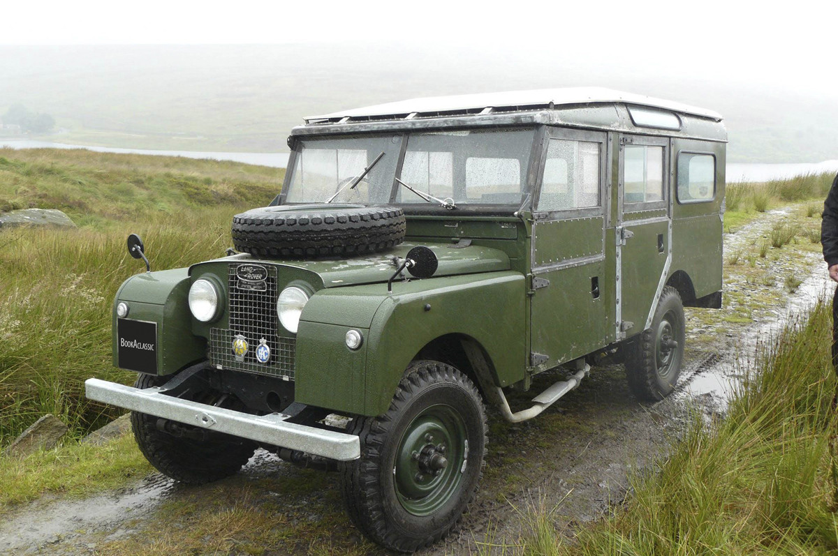 Land Rover 109 Station Wagon Hire Burley In Wharfedale