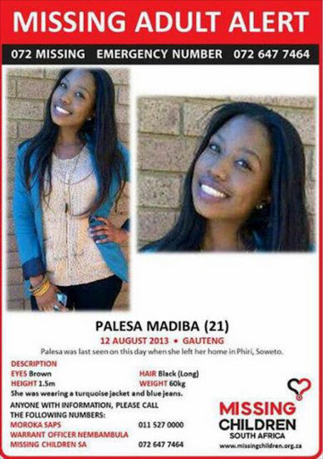 Buried Body Could Be Missing Uj Student Palesa Madiba